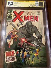 X-MEN #34 7/67 CGC 9.2 WHITE SS STAN LEE!!  NICE HIGH GRADE SIGNED COLLECTIBLE!