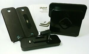 iRobot Braava 380 Floor Mopping Robot Cleaner Mop Bundle - Black - NEW Battery