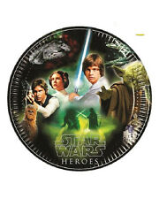 Piatti Carta Heroes 23 cm, Compleanno Star Wars  *21289