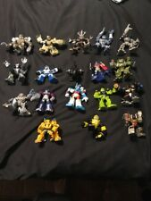 "18 Hasbro TRANSFORMERS  ROBOT HEROES  2.5"" FIGURES G1 2006 Autobots Decepticons"