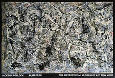 Jackson Pollock Number 28 Reproduktion
