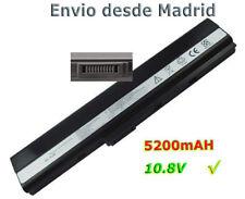 Bateria para 6Cells PORTATIL ASUS A32-K52  A52JU-SX398V K52JU
