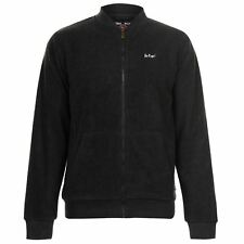 Lee Cooper Z T BB Mens Gents Zipped Fleece Top Sweatshirt Jumper