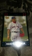 2007 Topps English Version #630 Daisuke  Matsuzaka RC Boston Red Sox