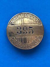 Vintage Warner Brothers Pictures Badge - LA Rubber Stamp