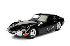 JADA 1967 TOYOTA 2000GT BLACK 1/24 NEW IN BOX DIECAST CAR  99575