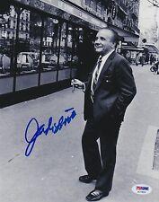 JAKE LAMOTTA Raging Bull Auto Autograph 8x10 Boxing Picture Photo PSA/DNA