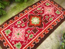 Vintage Handmade Wool Rug