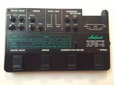 Aria Pro II APE-4 Multi Effects Delay Chorus OD/DI Rare Vintage Pedal MIJ Japan