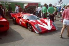 PHOTO  COYS 94 THE TWO LOLA T70 MK3BS RESTING IN THE PADDOCK WERE DRIVEN BY JOHN