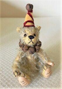 "Collectible ""World of Miniature Bears"" #990 - TINKER CIRCUS TEDDY BEAR"