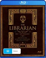 THE LIBRARIAN TRILOGY (Region Free) Blu-ray Quest For The Spear