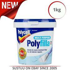 Polycell Polyfilla Multi-Purpose Ready Mixed Filler Tub│Versatile Filler│1kg