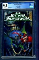 Batman Superman #1 CGC 9.8 Scorpion Comics Edition A Clayton Crain Cover Variant