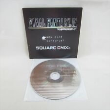 FINEAL FANTASY IX CHIPS Audio CD Import JAPAN