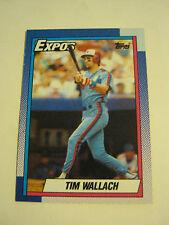 1990 Topps #370 Tim Wallach Baseball Card, Ex Cond (EB1-29)