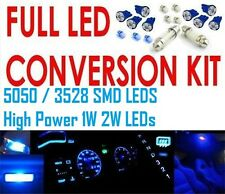 Blue full LED conversion kit, dash, parkers, n/plates, roof. Commodore VR VS UTE