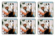 "ROY ROGERS COASTERS 1/4"" BAR & BEER SET OF 6"