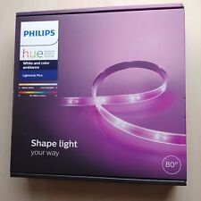 "Philips Hue Lightstrip Plus - White and Color Ambiance - 80"" - NEW 800276 LED"