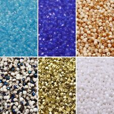 600pcs 6 colors Set Czech Fire-Polished Faceted Glass Beads Round 3 mm (3SFP306)