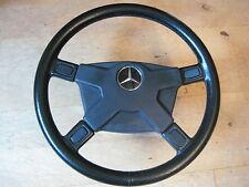 Leder Lenkrad Silberpfeil Mercedes AMG R107 W126 R129 W463 W124 ATI KBA 70005