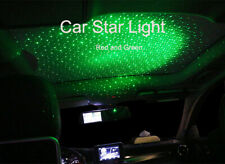 Car Roof Star Night Light Projector Ceiling Decoration Atmosphere Red and Green