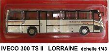 n° 116 IVECO LORRAINE année 1981 Autobus et Autocar du Monde 1/43 Neuf Boite NEW