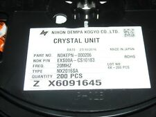 40C 85C Crystals 14.7456Mhz 18Pf 30Ppm