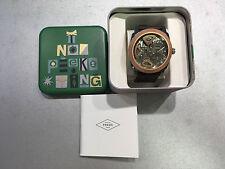Neu Fossil Herren Uhr Leder ME1122 Men Watch Leather mit Garantie aus Österreich