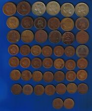 Portugal - LOT 48 COINS - 1917 TO 1927 - MIX TYPES / CENTAVOS - OLD REPUBLIC