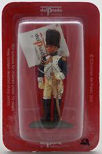 Figurine Del Prado Officier Cavalerie de la Garde Empire Napoléon Lead Soldier