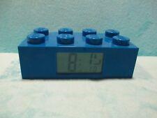 *RARE* 2010 LEGO Digital Alarm Clock - Blue Block Brick - XMAS GIFT FAULTY