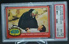 1977 Star Wars Topps Red Border Series 2 Psa 8 #72 Ben Kenobi Rescues Luke