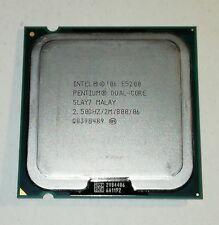 CPU Intel Pentium Dual-Core E5200 2x 2,5 GHz Sockel 775  2,5/2M/800 TOP!
