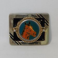 WESTERN STYLE WITH HORSE BELT BUCKLE