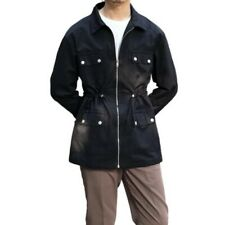 Men's Retro style Classic Multi-pocket Jacket American Outwear Hunting Tooling L