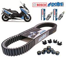 Pack Révision Courroie Galets Curseur Polini Bougie Bosch Yamaha Tmax 500 08-11