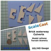 Model Railway WATERWAY CULVERTS Mould - OO Gauge - DT35