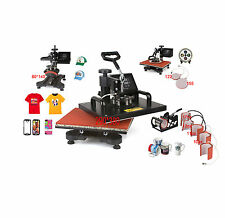 ToWorldwide 9 In 1 Heat Press Machine Digital Tshirt Printing Machine,Heat Press