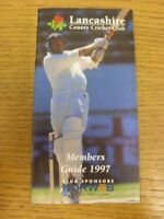 1997 Cricket: Lancashire County Cricket Club - Members Guide. If this item has a