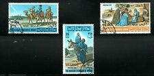 1966 Jordan Christmas set of 3 used (SG 771-773)