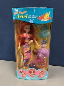 Hair Fashion Ariel with Fabulous Hair Pieces by Tyco Vintage New Factory Sealed