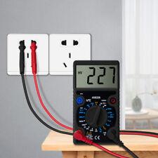 Large Screen Digital Voltmeter Ammeter Ohmmeter Multi-Meter Voltage AC/DC Tester