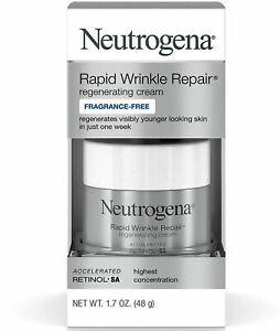 Neutrogena Rapid Wrinkle Repair Cream Fragrance Free 1.7 oz