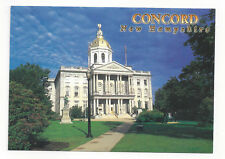 POSTCARD  STATE HOUSE CONCORD NEW HAMPSHIRE  NH-359  NEW  GOLD DOME