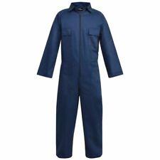vidaXL Men's Overalls Size M Blue Work Uniform Dungaree Labour Suit Coverall