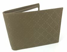 """AUTHENTIC New Gucci Men's Large Leather """"Margaux"""" Diamante Wallet #278596, NWT"""
