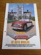 Pilgrim Haldene hd 300 kit car sales brochure années 1990?