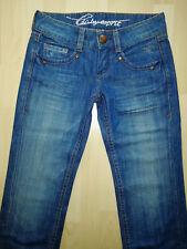 edc by ESPRIT JOY Jeans Bootcut sexy dunkelblau used W24 L32