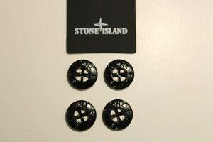 STONE ISLAND x4 Black Buttons *FLASH SALE*